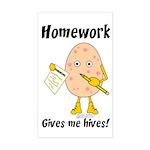 Homework Sticker (Rectangle)