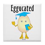 Eggucated Tile Coaster