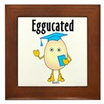 Eggucated Framed Tile