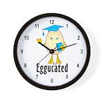Eggucated Wall Clock