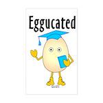 Eggucated Sticker (Rectangle)