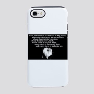 Prayer of St. Francis with Calla Lily iPhone 7 Tou