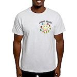 Love Math Pocket Image Light T-Shirt