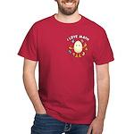 Love Math Pocket Image Dark T-Shirt