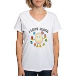 Love Math Women's V-Neck T-Shirt