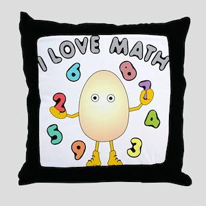 Love Math Throw Pillow