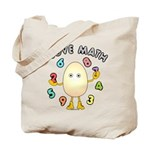 Love Math Tote Bag
