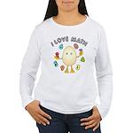 Love Math Women's Long Sleeve T-Shirt