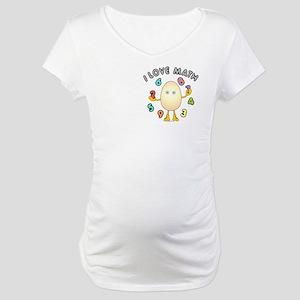 Love Math Pocket Image Maternity T-Shirt