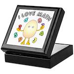 Love Math Keepsake Box