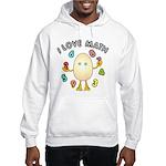 Love Math Hooded Sweatshirt