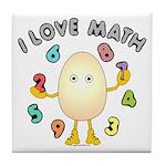 Love Math Tile Coaster