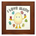 Love Math Framed Tile