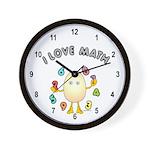 Love Math Wall Clock