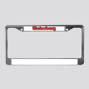 Waterbury, Connecticut License Plate Frame