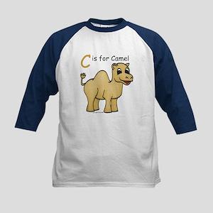 C is for Camel Kids Baseball Jersey