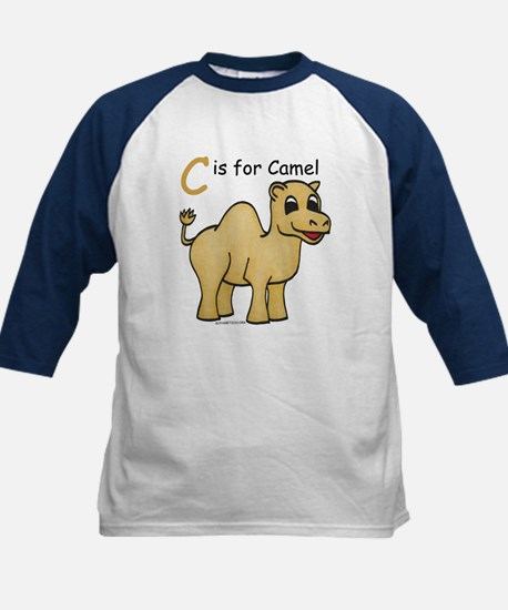 C is for Camel Kids Baseball Jersey