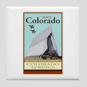 Travel Colorado Tile Coaster