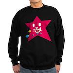 1 STAR EATING RED Sweatshirt (dark)