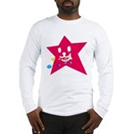 1 STAR EATING RED Long Sleeve T-Shirt