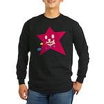 1 STAR EATING RED Long Sleeve Dark T-Shirt