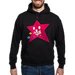 1 STAR EATING RED Hoodie (dark)