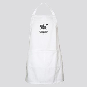 Talk to your cat BBQ Apron