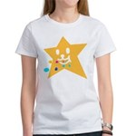 1 STAR EATING ORANGE Women's T-Shirt