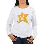 1 STAR EATING ORANGE Women's Long Sleeve T-Shirt