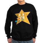 1 STAR EATING ORANGE Sweatshirt (dark)
