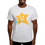 1 STAR EATING ORANGE Light T-Shirt