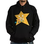 1 STAR EATING ORANGE Hoodie (dark)