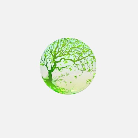 Spring Mini Button