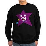 1 STAR EATING PURPLE Sweatshirt (dark)