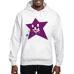 1 STAR EATING PURPLE Hooded Sweatshirt