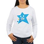 1 STAR EATING BLUE Women's Long Sleeve T-Shirt
