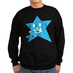 1 STAR EATING BLUE Sweatshirt (dark)