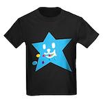 1 STAR EATING BLUE Kids Dark T-Shirt