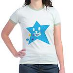 1 STAR EATING BLUE Jr. Ringer T-Shirt
