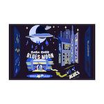 blues moon Mini Poster Print