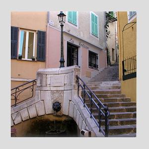 Tile Coaster: <br>Fountain in Villefranche