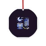 blues moon Ornament (Round)
