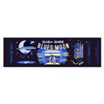 blues moon Sticker (Bumper 10 pk)