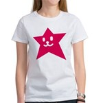 1 STAR SMILEY RED Women's T-Shirt