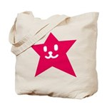 1 STAR SMILEY RED Tote Bag