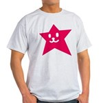 1 STAR SMILEY RED Light T-Shirt