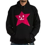 1 STAR SMILEY RED Hoodie (dark)