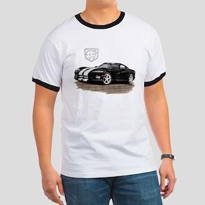 Viper Black/White Car Ringer T
