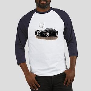 Viper Black/White Car Baseball Jersey