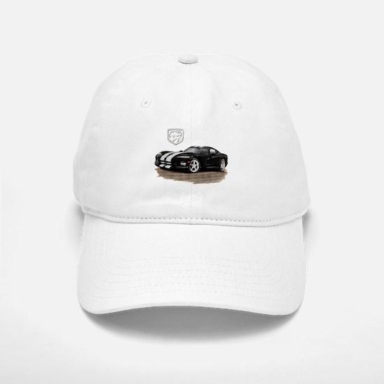 Viper Black/White Car Baseball Baseball Cap